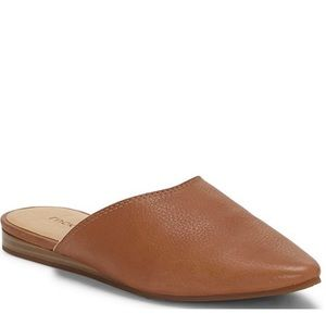 Lucky brand Bareisha leather pointed toe mules